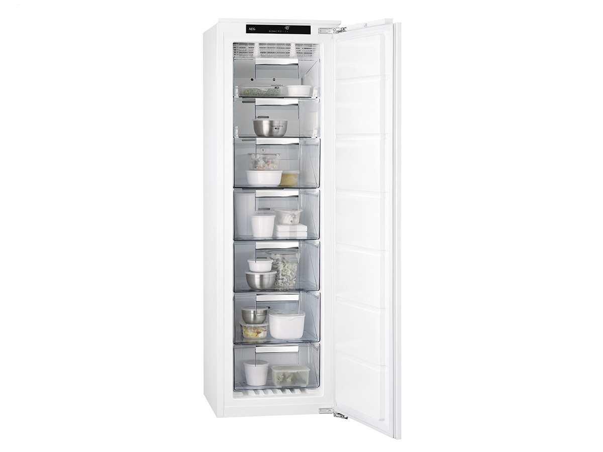 Aeg Kühlschrank No Frost : Aeg abe nc einbaugefrierschrank einbau gefrierschrank nofrost