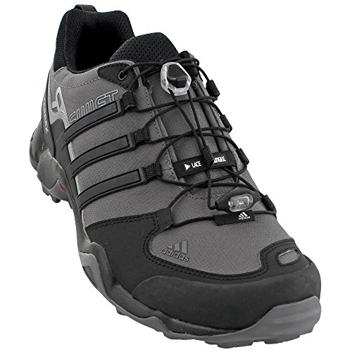 Adidas Terrex Swift R Hiking Shoe - Men's Granite/Black/CH Solid Grey 11 (Adidas Trail Running Shoes Men)