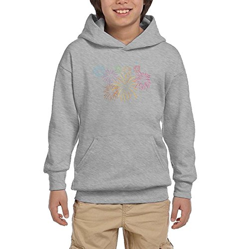 Fireworks Colortone Boy Athletic With Pocket Hooded Hot Tops Pullover Sweatshirts