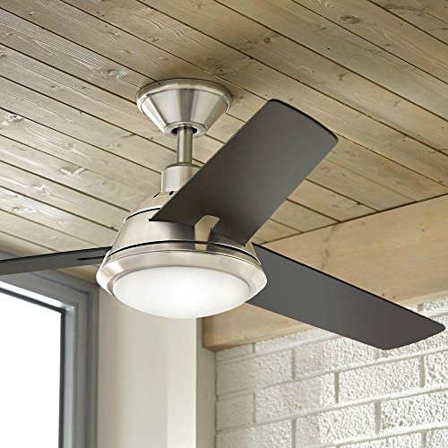Gardinier 52 In Led Brushed Nickel Ceiling Fan Ceiling