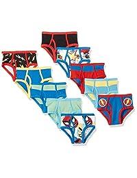 Amazon Brand - Spotted Zebra Boys' 10-Pack Brief Underwear