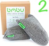 Image of Shoe Deodorizer Bags - Carbon Activated Bamboo Charcoal Air Purifiers (100g x 2)
