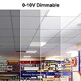 Hykolity 6 Pack 2x4 FT LED Flat Panel Troffer
