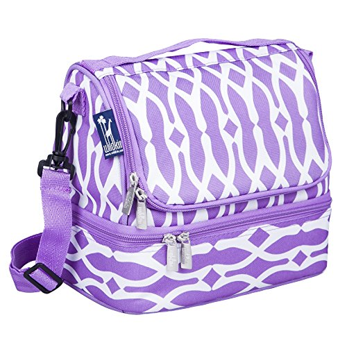 Wildkin Two Compartment Lunch Bag, Wishbone