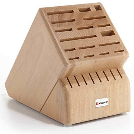Wusthof 25 Slot Storage Block - Hardwood Knife Storage Block