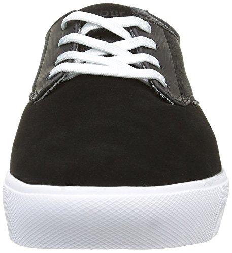 Globe Motley Lyt - Zapatillas Hombre Negro - negro/blanco