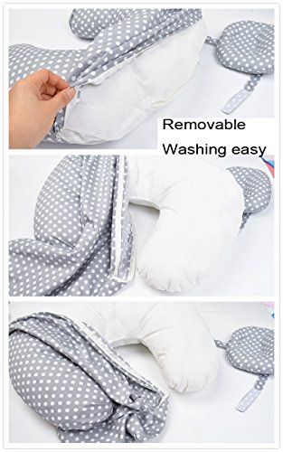 Aluck Nursing Feeding Pillow and Positioner for Breastfeeding by Aluck (Image #4)