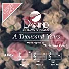 A Thousand Years [Accompaniment/Performance Track] (Daywind Soundtracks)