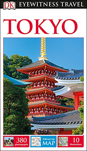 DK Eyewitness Travel Guide Tokyo (Best Time To Travel To Japan)