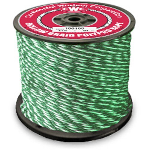 CWC Hollow Braid Polypropylene Rope - 1/4