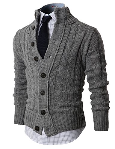 H2H-Mens-Premium-Various-Styles-Twisted-Knit-Cardigan-Sweater-with-Button-Details