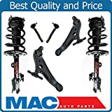 Front Complete Loaded Quick Coil Spring Strut Control Arms Tie Rod For 09-14 Toyota Venza Wagon Model Only