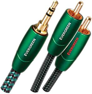 Audioquest Evergreen Audio Interconnect 1m (3 feet 4inches) 3.5mm to RCA