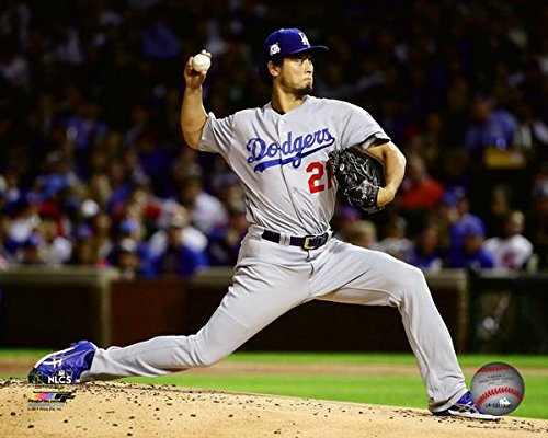 "Yu Darvish Los Angeles Dodgers 2017 NLCS Action Photo (Size: 11"" x 14"")"