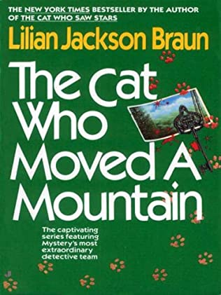 book cover of The Cat Who Moved A Mountain