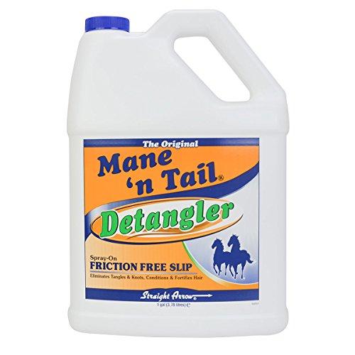 Straight Arrow Mane N Tail Equine Detangler Spray for Horse