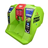 VisionAid REW01116 Radians Emergency Eyewash Station, Hi-Viz Green, 16 gallon