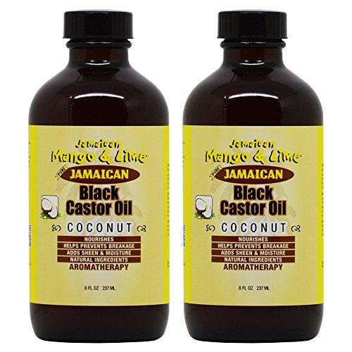 Oil Mango Coconut - Jamaican Mango & Lime Black Castor Oil Coconut 8oz
