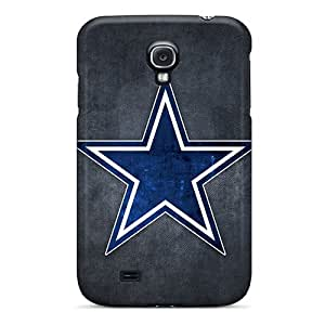 First-class Case Cover For Galaxy S4 Dual Protection Cover Dallas Cowboys Logo