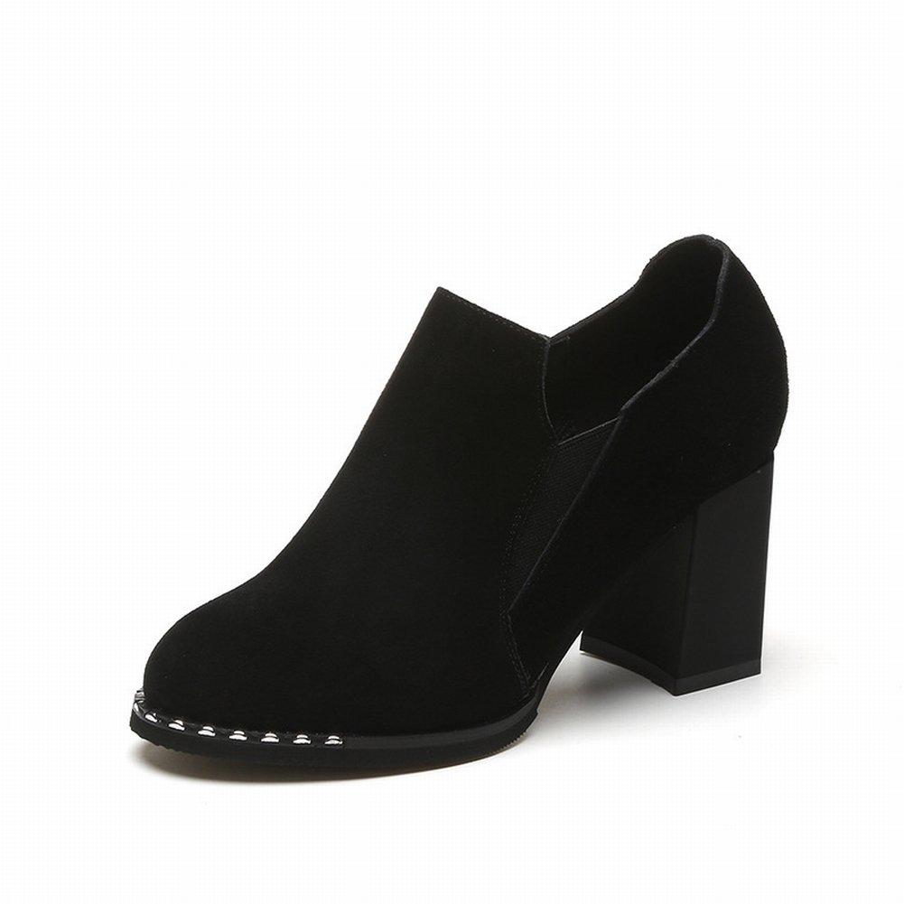 Kurze Stiefel und Stiefeletten , schwarz , 36,5 EUR