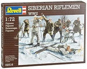 Revell 2516 - Maqueta de infantería rusa en invierno