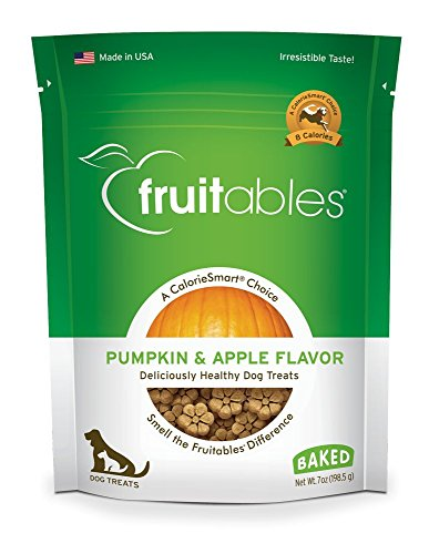 Fruitables Baked Dog Treats Pumpkin & Apple Flavor 7 oz