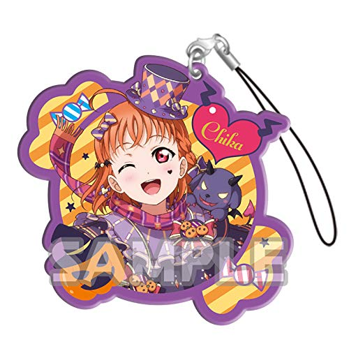 Bushiroad Love Live Sunshine!! Chika Takami Halloween Ver. Character Gacha Capsule Acrylic Straps Mascot Collection Vol.3 Anime Art]()