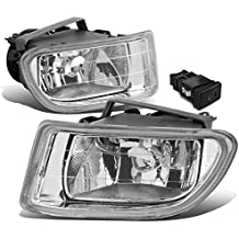 Honda Odyssey RL1 Pair of Bumper Driving Fog Lights w/Switch (Clear Lens)