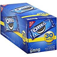 OREO Chocolate Sandwich Cookies, 30 - 1.59 oz Snack Packs