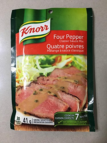 (3x41 g Knorr Four Pepper Classic Sauce Mix)