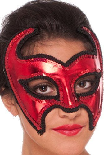 Adult Black Devil Demon Half product image