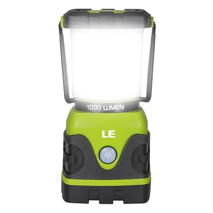 87 opinioni per LE Lanterna LED, 4 Modalità 10W 1000lumen Lampada Campeggio Impermeabile per
