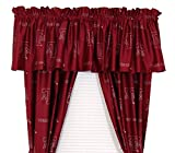Texas A&M Aggies - Set of (2) Printed Curtain Valance/Drape Sets (Drape Length 63'') To Decorate Two Windows - Save Big By Bundling!