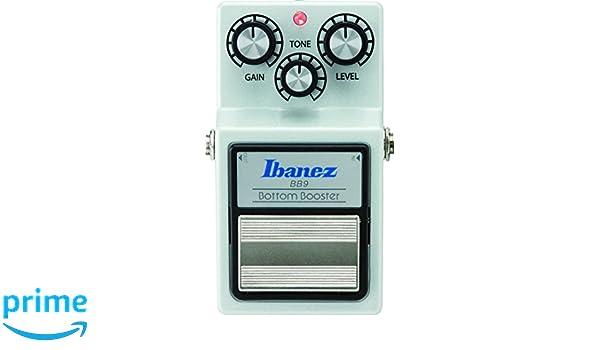 Ibanez BB9 - Pedal multiefecto para guitarra (turbo): Amazon.es: Instrumentos musicales