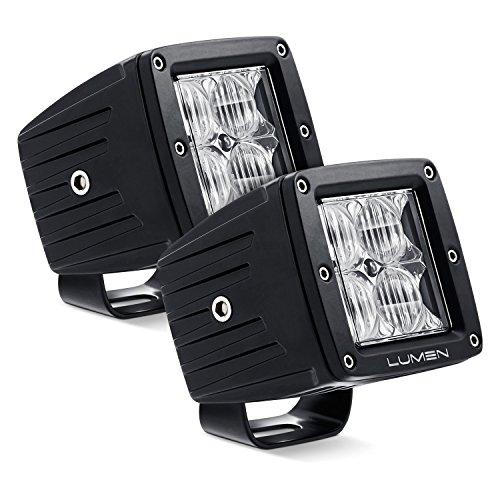 Lumen OR995-CF - 3' Cube 4D Optic 20W Flood LED Pod Lights