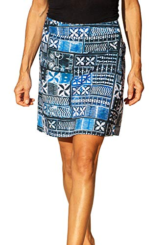 RipSkirt Hawaii - Length 2 - Quick Wrap Cover-up That Multitasks as The Perfect Travel/Summer Skirt (X-Small / 00-2, Pacific Tapa)