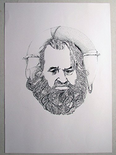 the sailor - Original Pen on Paper (42 cm x 59.4 cm) by Ati's Original Art