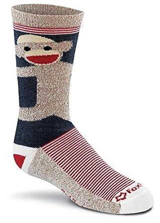 Fox River Kids rojo talón Mono abrazos calcetines de lana de merino: Amazon.es: Deportes y aire libre