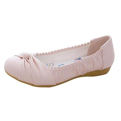 Damen Ballerinas, rosa, 38