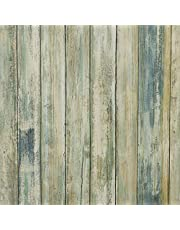 practicalWs Wood Contact Paper Self-Adhesive Removable Wood Peel and Stick Wallpaper Decorative Wall Covering Vintage Wood Panel Interior Film Distressed Wood Plank Wooden Grain Film Vinyl Decal Roll