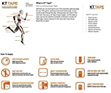 KT Tape Original Cotton Elastic Kinesiology Therapeutic Sports Tape, 20 Pre cut 10 inch Strips, Breathable, Pro & Olympic Choice