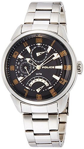 POLICE watch flash 10th Anniversary model 5 ATM water resistant 14407JS-02MA [regular imported goods]