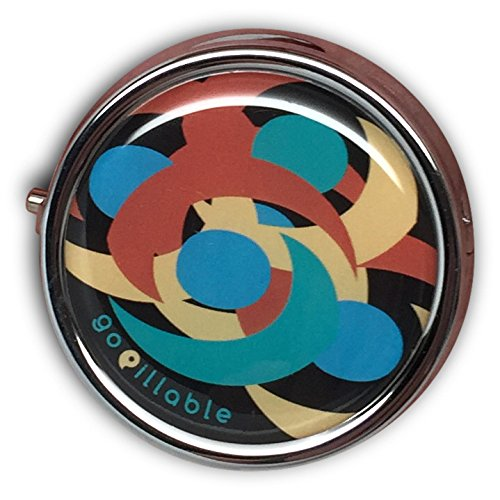 Gopillable Midnight Swirl Decorative Pill Box For Pocket Or Import Extraordinary Decorative Pill Boxes For Purse