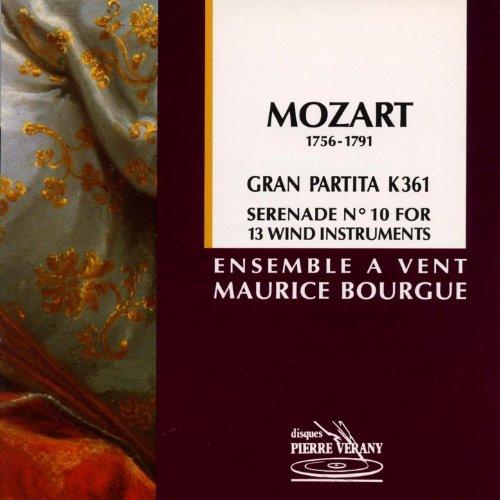 Mozart   S R Nade No  10 Gran Partitapour 13 Instruments   Vent  K 361