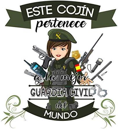 Kembilove Cojín Decorativo de la Mejor Guardia Civil del Mundo ...