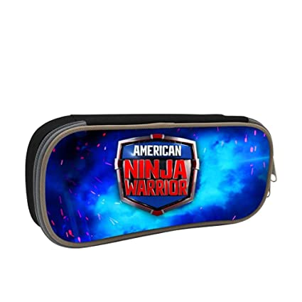 Amazon.com : American Ninja Warrior Pencil Case Pen Bag ...
