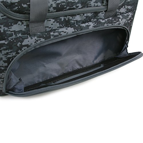 51 iI00jWdL - Fila Source Sm Travel Gym Sport Duffel Bag, Black Digi Camo