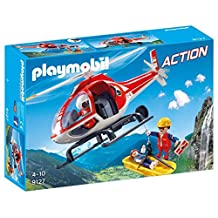 PLAYMOBIL 9127 Mountain Rescue Helicopter