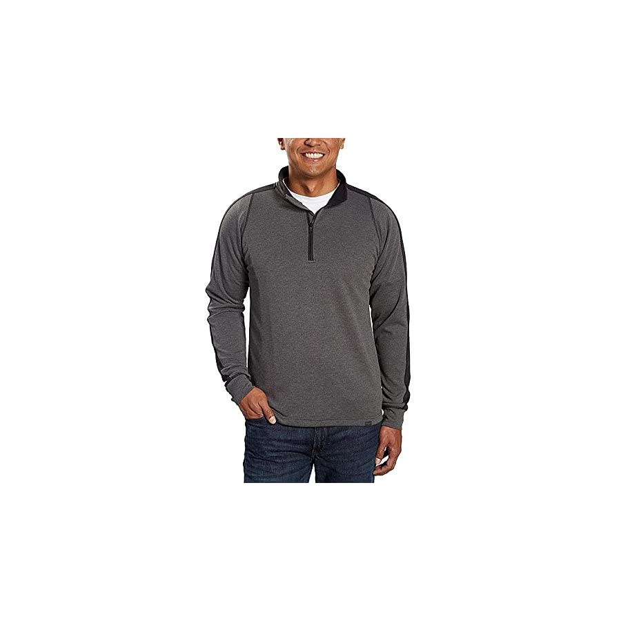 Hawke & Co. Men's 1/4 Zip Pullover Active Sweatshirt