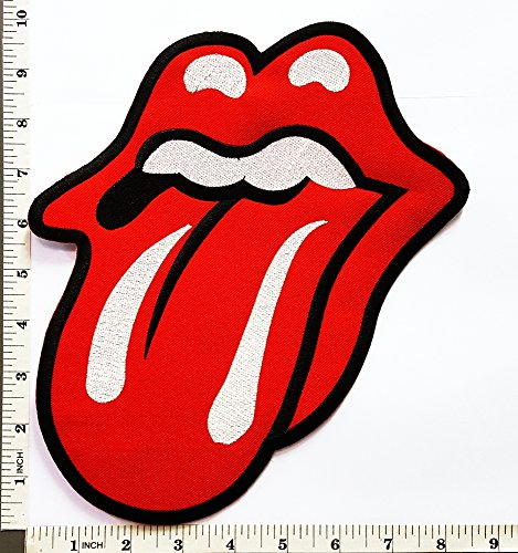 Rolling Stones patch T shirt Embroidery product image